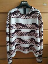 Lovely Twisty Parallel Jumper, size S - VGC