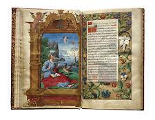 3 BOOKS OF HOURS Illuminated- Daniel Rym- Life of Christ- Latin 1370  on CDROM