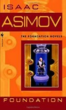 Complete Set Series Lot of 10 Foundation Series Books by Isaac Asimov Sci Fi