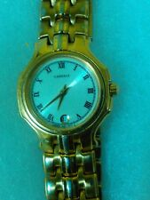 ESTATE Lassale by Seiko Gold Tone Stainless 7N89-0389 WORKING NEW BATTERY