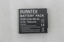 Avantek mini digital DV Video Camera Battery für Canon NB 6L 3.7V 750mAh NEU
