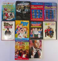 Lot of 30 DVDs (8 Box Sets) Entourage Family Guy Get Smart Kids In Hall Brady B.