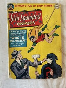 STAR SPANGLED COMICS #83-ROBIN-TOMAHAWK-GOLDEN AGE GOOD+ 2.5 FREE SHIPPING!