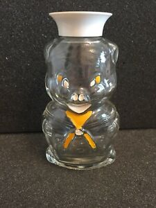 Glass Coin Bank Small Pig In Sailor Suit - Painted Design