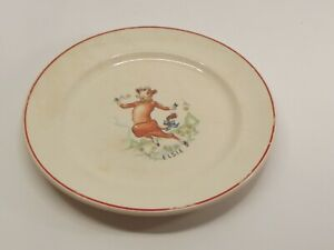 Borden Co. Elsie the Cow Child's Plate