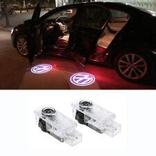 2x UNDER DOOR PUDDLE LIGHTS 3D LOGO FOR VW Passat B5 B5.5 B6 3BG 3C Phaeton