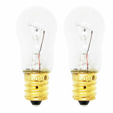 2-Pack Light Bulb for Ge Gss20Iembww, Gss25Jfmbww, Pss26Sgpass, Gss22Jfmcww
