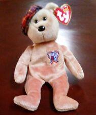 TY Beanie Baby - CHARITEE the PGA Golf Bear (9 inch) - MWMT's Stuffed Animal Toy