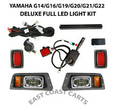 Yamaha G14-G22 Golf Cart SUPER DELUXE FULL LED Light Kit w/LED Head & Taillights