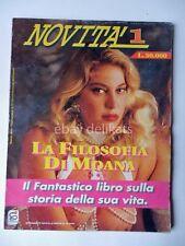 LA FILOSOFIA DI MOANA Pozzi libro rivista erotica sexy INTROVABILE RARO