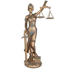 Justitia Figur Gerechtigkeit Göttin Mythologie Dekoration Anwalt Kanzlei JUST02