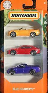 Matchbox Blue Highways 3 Pack Box Set Holden Commodore VE SSV Ute Purple (SALE)