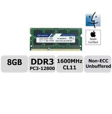 Mac Memory 8GB DDR3 1600MHz upgrade For MacBook RAM Timetec