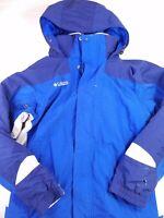 Columbia Men's 3-in-1 Jacket coat hooded blue Interchange core size medium HU