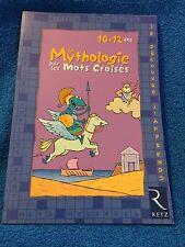 (NEW) LA MYTHOLOGIE PAR LES MOTS CROISES BOOK