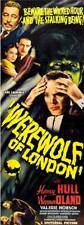 Werewolf Of London 1935 Vintage Horror Movie Poster Canvas Giclee 17x39 in.