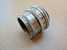 """BELL & HOWELL SUPER COMAT 0.7""""  F2.5 C Mount Cine Lens Bolex BMCC"""