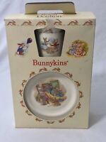 Royal Doulton 1989 Bunnykins 3 Piece Children's Set New in Box Mug Bowl Plate