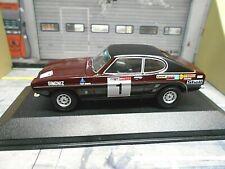FORD Capri MKI 3000GT V6 1973 #1 Clark Rallye Tour Britain Corgi Vanguards 1:43