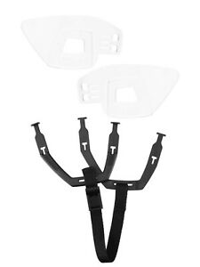 CCM FitLite Replacement Ear Loops Ear Slings Black Hockey Ear Covers Chin Strap