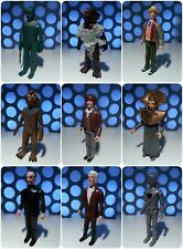 """Doctor Who Dapol Vintage Retro 1980s 3.75"""" Classic Series Figures Lot Collection"""