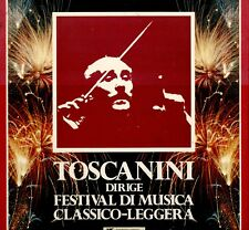 LP 7462 COFANETTO 9 LP TOSCANINI DIRIGE FESTIVAL DI MUSICA CLASSICO LEGGERA