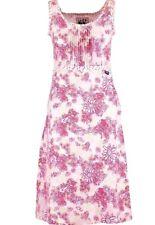 Lazy Jacks 100 Linen Feather Print Dress Size 18-20 18