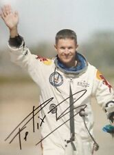 Felix Baumgartner World Record Sky Dive Signed Autographed A4 Poster Photo Print