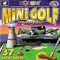Mini Golf Master Pc New Cd Rom Sealed In Paper Sleeve XP