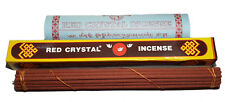 Traditional Tibetan Red Crystal Incense and Fragrances incense Handmade Nepal
