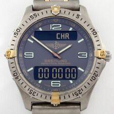 Orologi da polso con data Breitling con cinturino in titanio