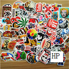 10pcs /lot Sticker Bomb Decal Vinyl Roll Car Skate Skateboard Laptop Luggage EE