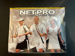 2003 Netpro Tennis Box Factory Sealed