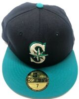 Seattle Mariners MLB New Era 59FIFTY Size 7 Fitted Hat
