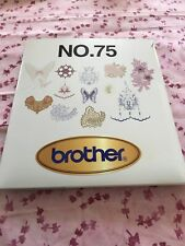 Brother No.75 Embroidery Card Lacy Designs Pes format