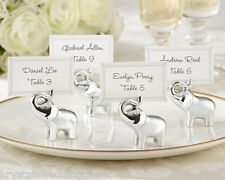 Lucky in Love Elephant Place Card Photo Holder Wedding Reception Party Favor