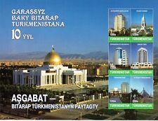 Turkmenistan - 10 Jahre Unabhängigkeit / Independence  2001 (**/MNH) Block 17