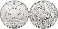 2015 U.S. Marshals Service 225th Anniversary Silver $ 1 Dollar w/ COA