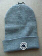 Men's Converse Tall Cuff Knit Black Watch Cap Beanie Hat (One Size Fits Most)