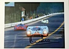 Spa 1000 km 1971 Porsche 917K Jo Siffert /  Derek Bell HAND SIGNED by Derek Bell