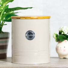 Typhoon Retro Grey Cookies Biscuit Storage Tin Kitchen Container Canister Pot
