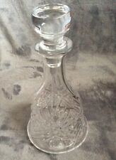 Drinks Decanter Vintage Bell Shaped Cut Glass Whisky Wine Sherry Decanter Gentry
