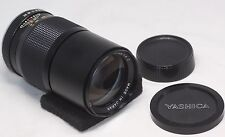 Very good++ YASHICA  ML 200mm F/4 C Lens made in Japan