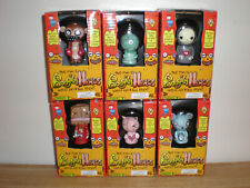 FULL set of 6 Gus Fink's Series 2  Boogily Head Monster Figures Mint