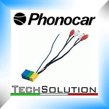 Phonocar 4/195 Cavo adattatore Convertitore Connettore Mini ISO RCA