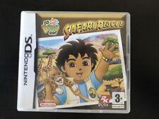 Nintendo DS Go Diego Go! Safari Resue-Excelente Estado