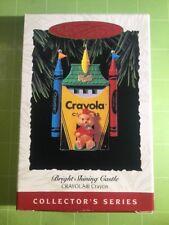 Bright Shining Castle Crayola Hallmark Keepsake Ornament NEW~FREE SHIPPING~NEW~
