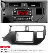 Carav 11-291 2din marco adaptador kit de radio Kia Rio UB K3 Pride sin SRS