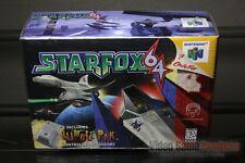 Star Fox 64 First Print (Nintendo 64, N64 1997) H-SEAM SEALED! - RARE!