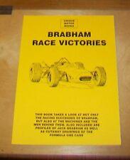 Brabham carrera victorias artículos de revistas anuncios reimpresión Libro. bloque de memoria superior prensa.